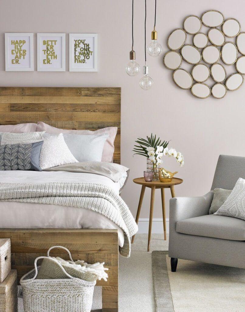 como decorar habitacion matrimonio pequeña