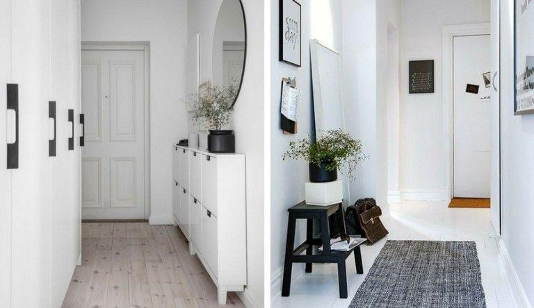 como decorar un pasillo muy largo y estrecho