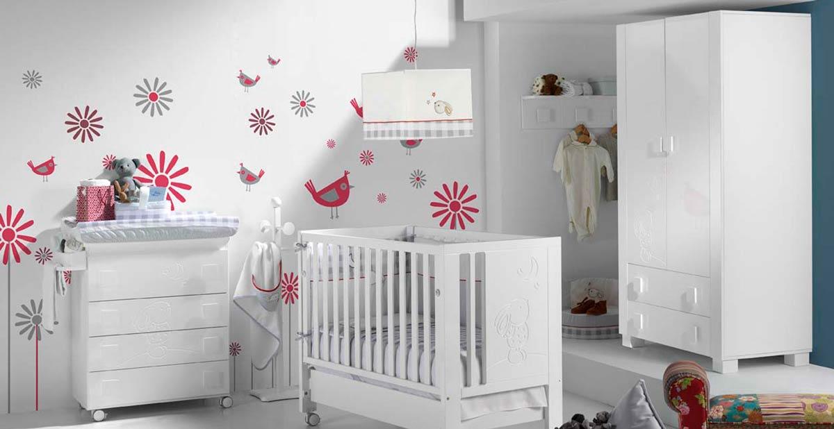 decoracion de habitacion de bebe